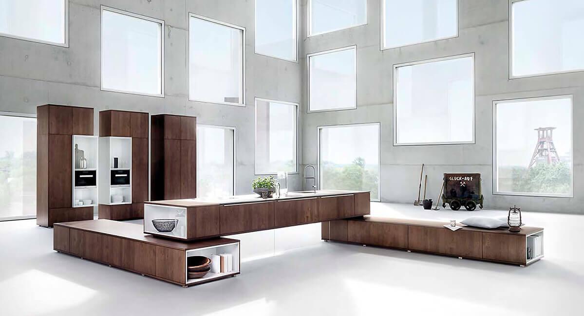 Küchenhaus-Waldbröl bei uns gibt es L-Küche, U-Küche, Inselküche