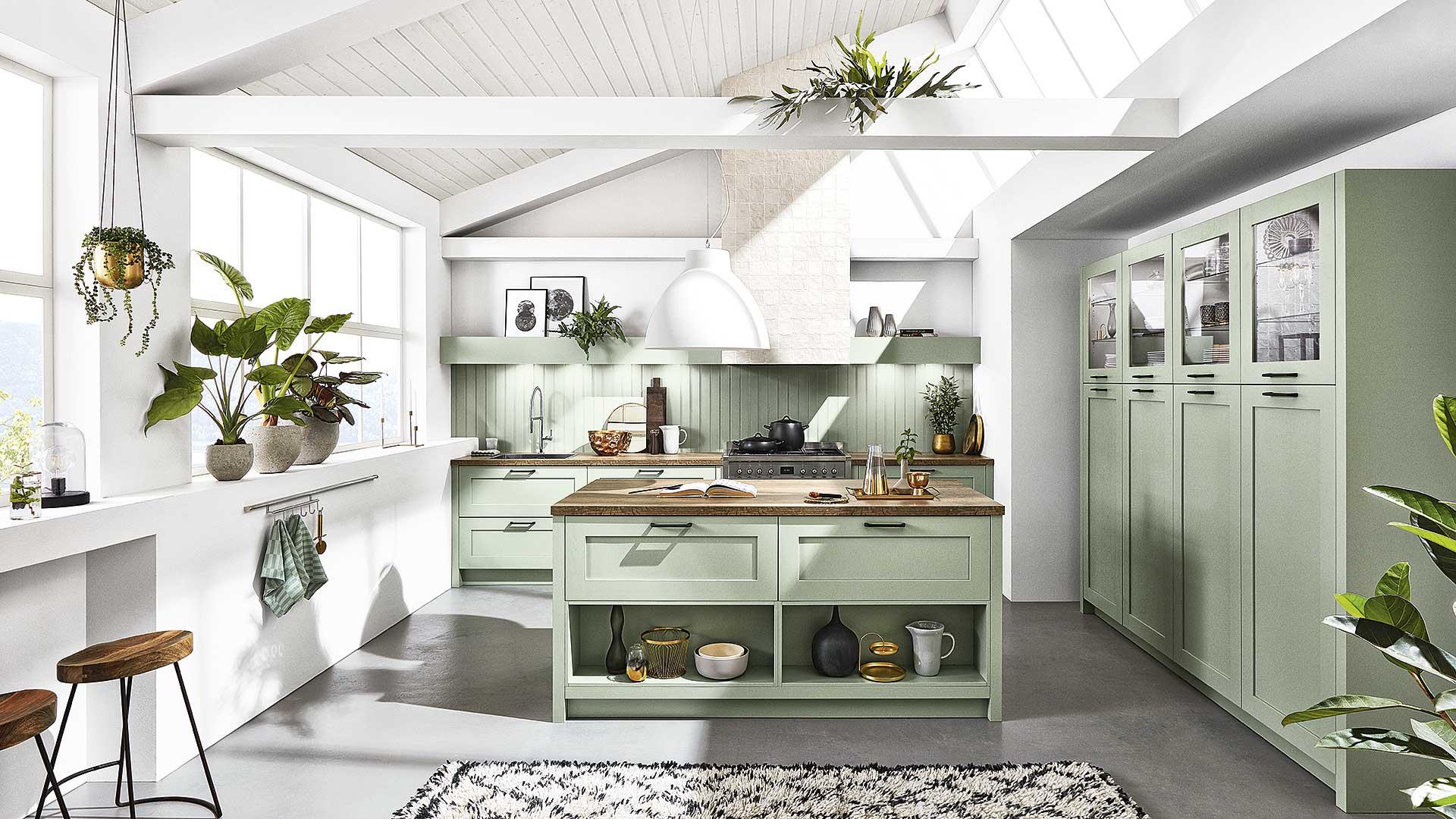 Inselküche von Küchenhaus Waldbröl